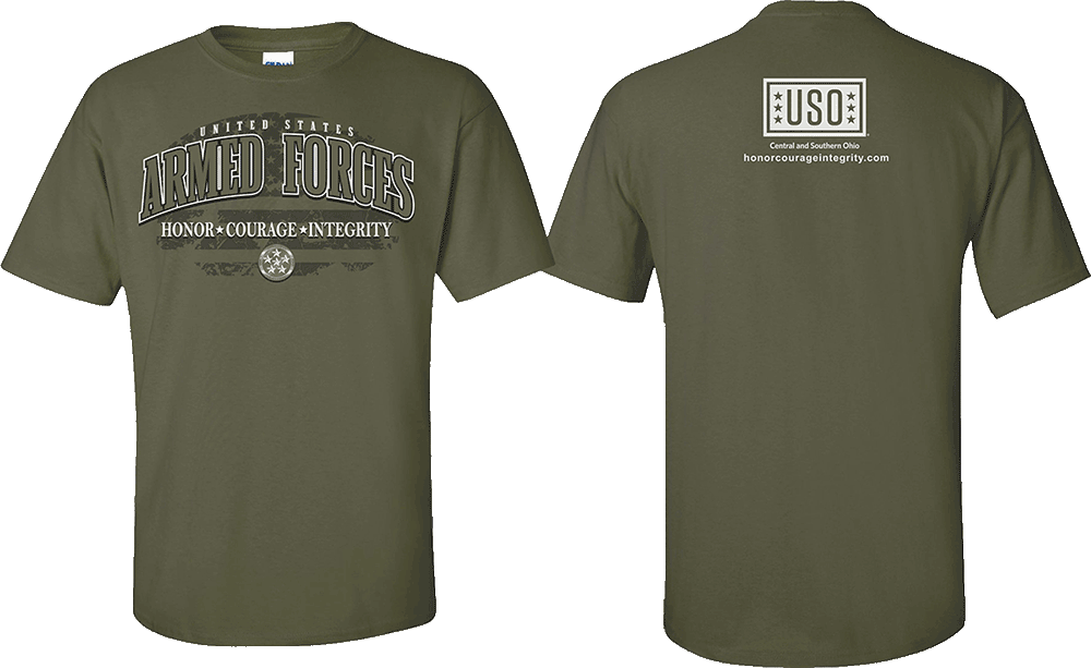 Honor Courage Integrity USO - CSO Classic Tshirt